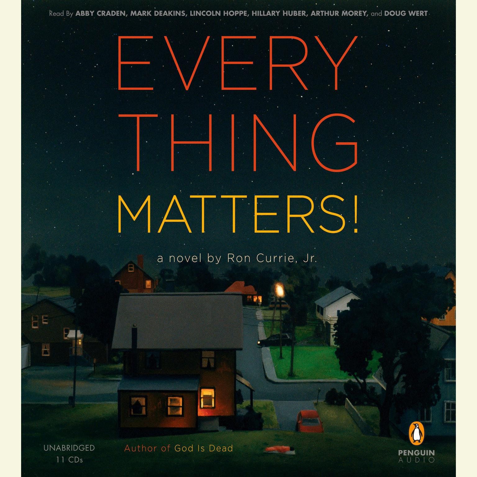 Printable Everything Matters!: A Novel Audiobook Cover Art
