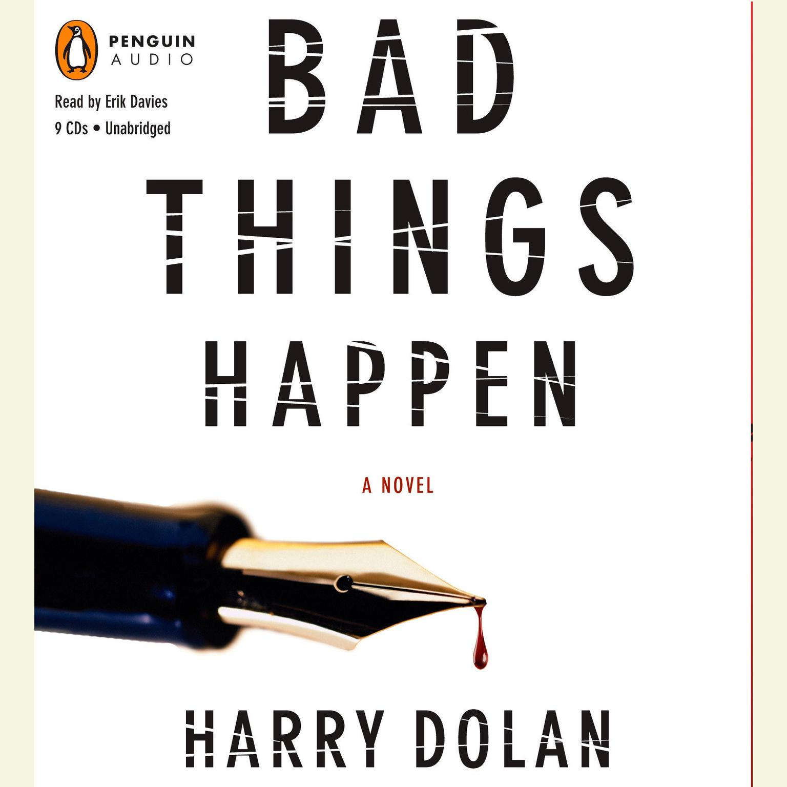 Printable Bad Things Happen Audiobook Cover Art