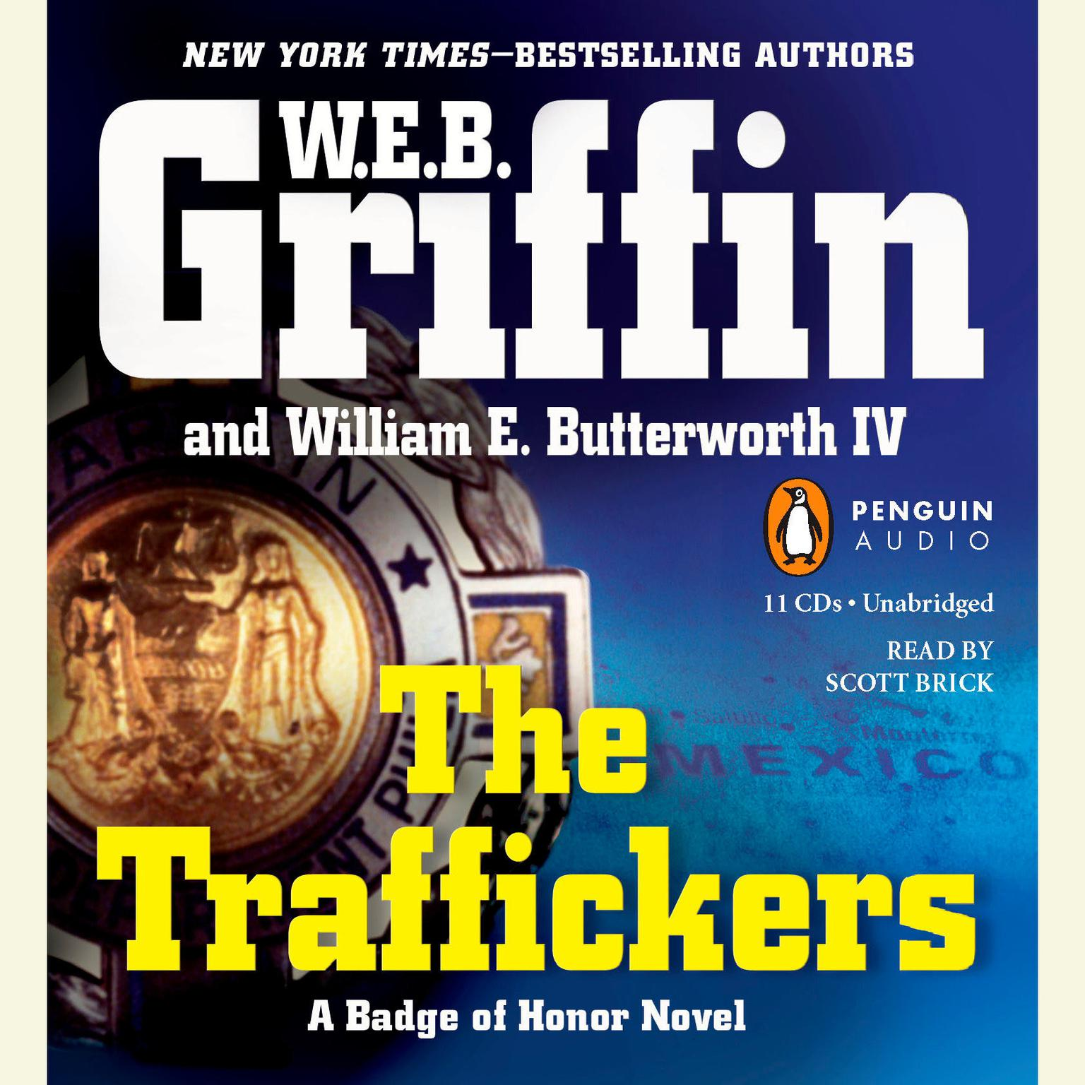 Printable The Traffickers Audiobook Cover Art