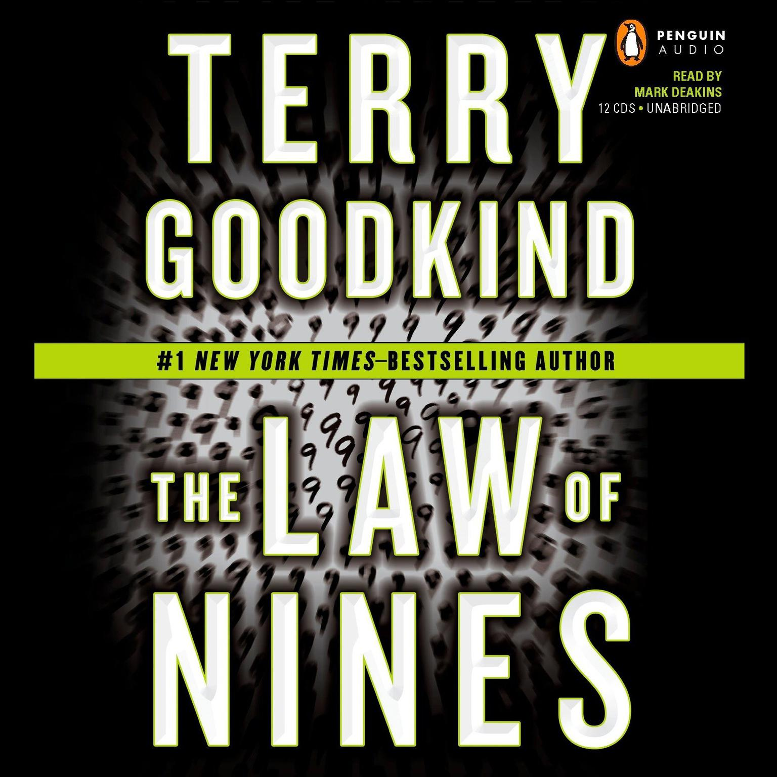 Printable The Law of Nines Audiobook Cover Art