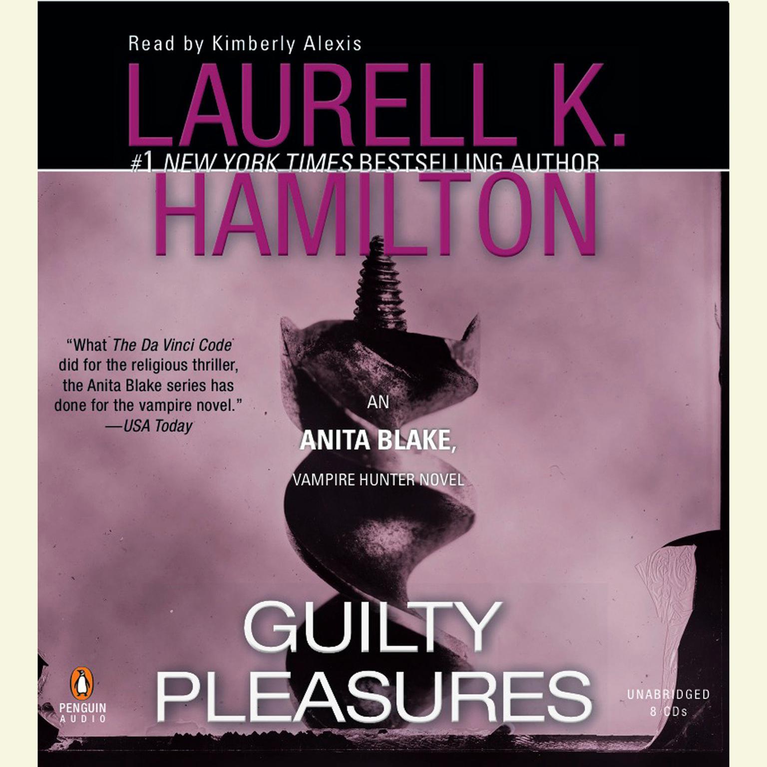 Printable Guilty Pleasures: An Anita Blake, Vampire Hunter Novel Audiobook Cover Art