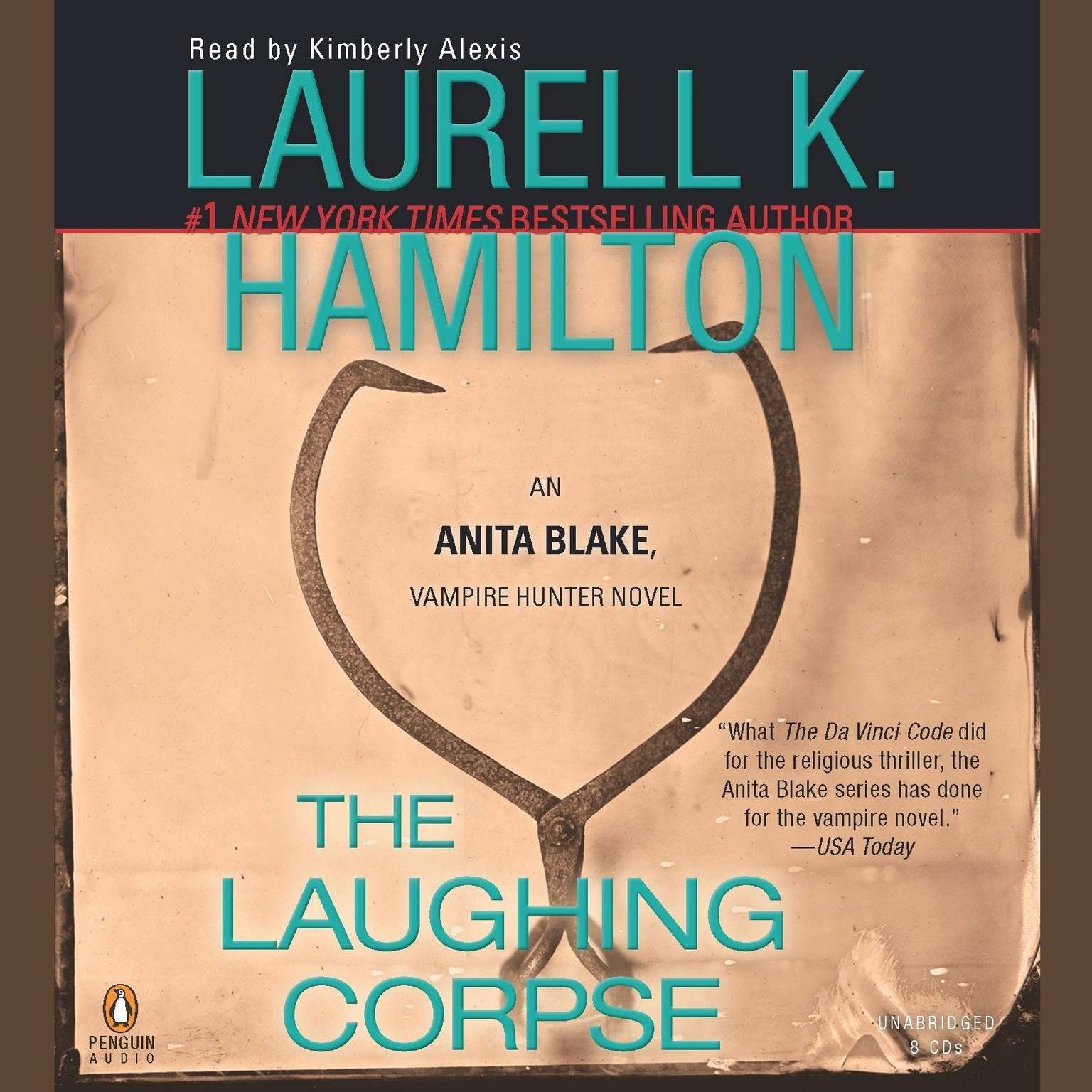 Printable The Laughing Corpse: An Anita Blake, Vampire Hunter Novel Audiobook Cover Art