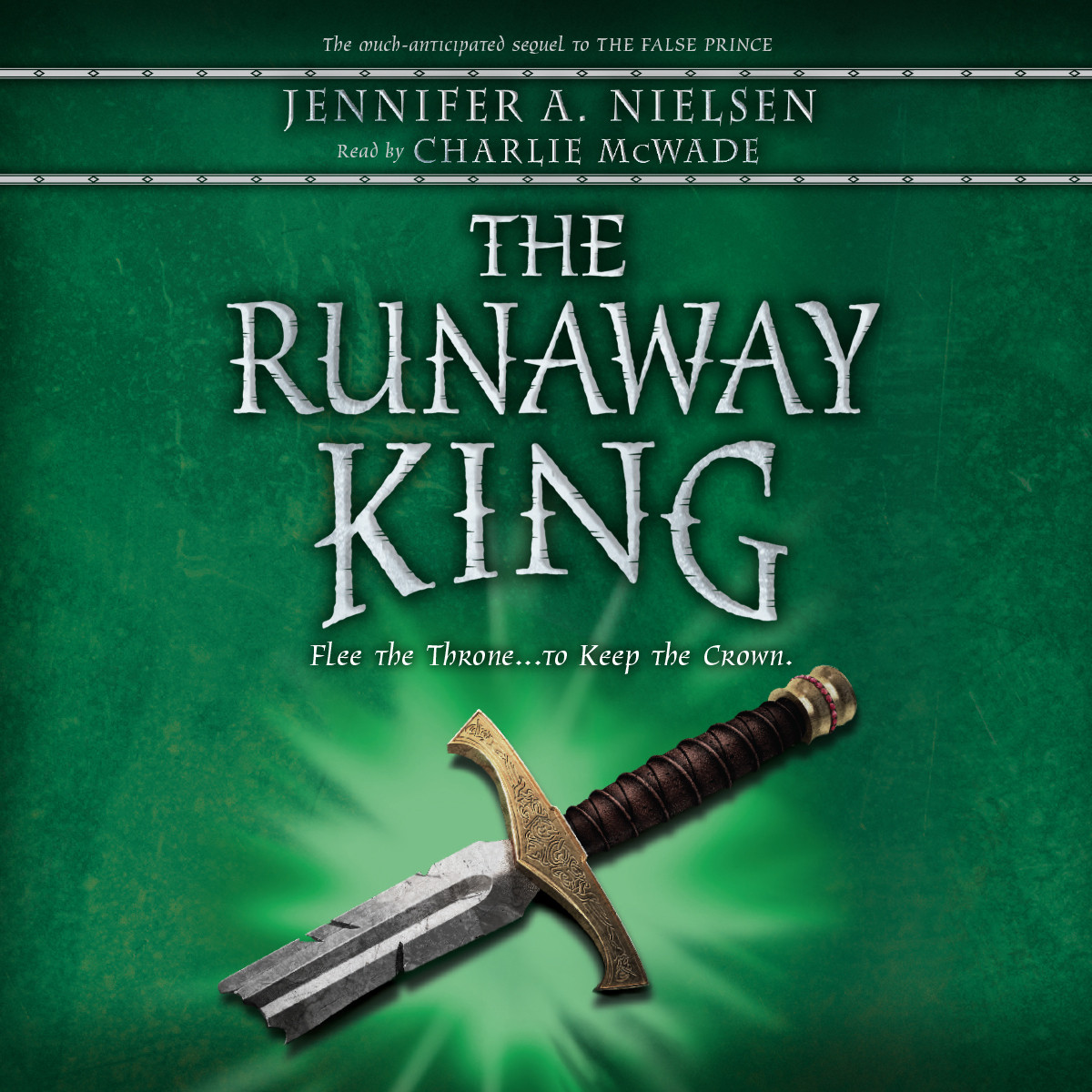 Printable The Runaway King Audiobook Cover Art