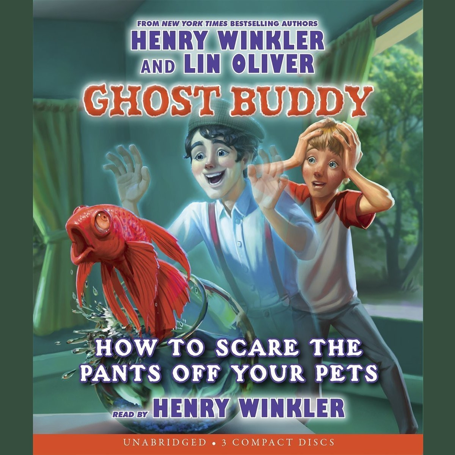 Printable How to Scare the Pants off Your Pets Audiobook Cover Art