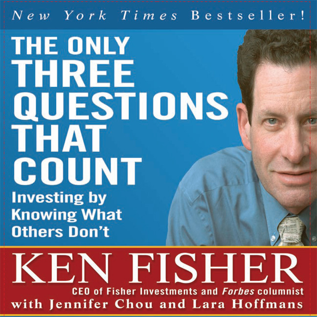 Printable The Only Three Questions That Count: Investing by Knowing What Others Don't Audiobook Cover Art