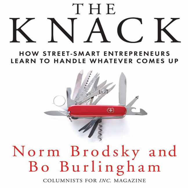Printable The Knack: How Street-Smart Entrepreneurs Learn to Handle Whatever Comes Up Audiobook Cover Art