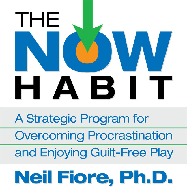 Printable The Now Habit: A Strategic Program for Overcoming Procrastination and Enjoying Guilt-Free Play Audiobook Cover Art