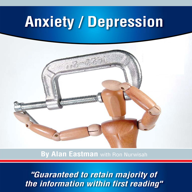 Printable Anxiety/Depression Audiobook Cover Art