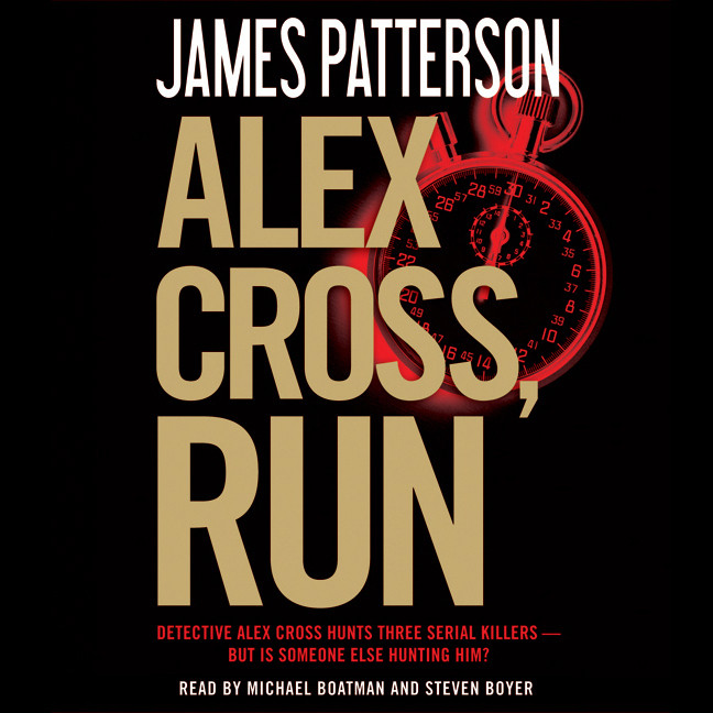 Printable Alex Cross, Run Audiobook Cover Art