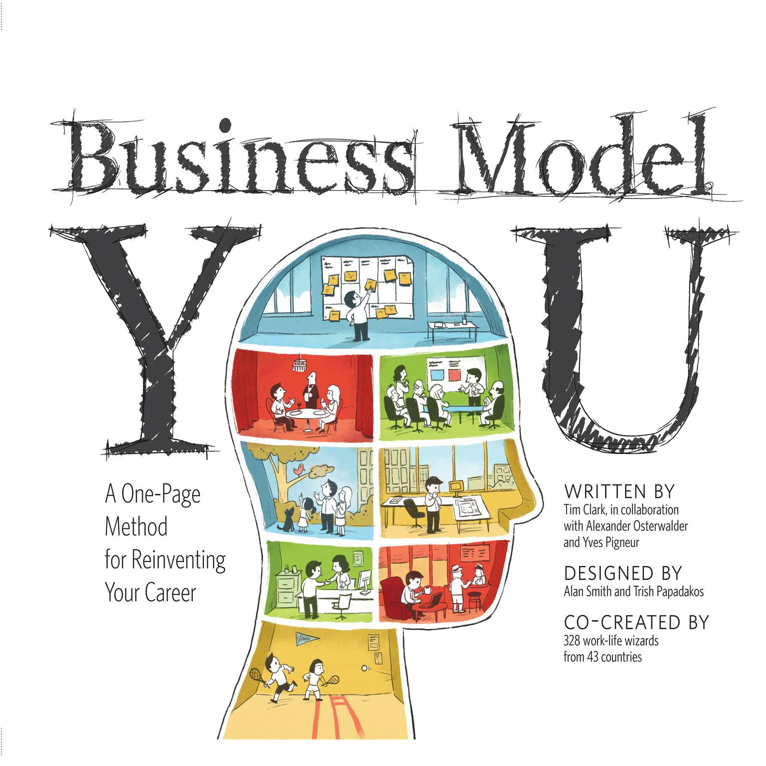 Printable Business Model You: A One-Page Method For Reinventing Your Career Audiobook Cover Art