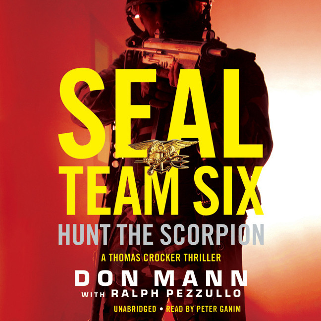 Printable SEAL Team Six: Hunt the Scorpion Audiobook Cover Art