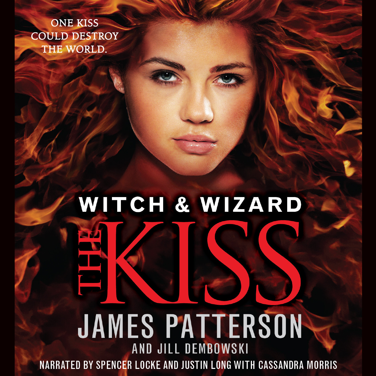 Printable The Kiss Audiobook Cover Art