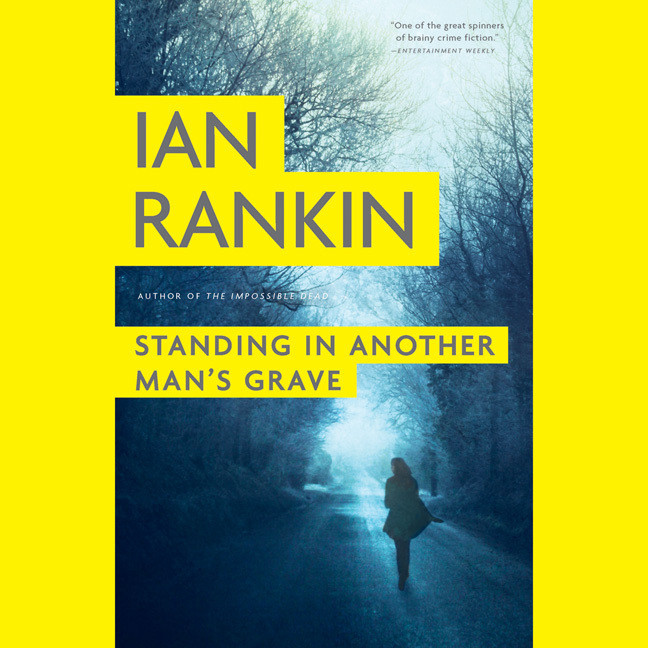 Printable Standing in Another Man's Grave Audiobook Cover Art