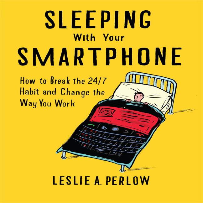 Printable Sleeping with Your Smart Phone: How to Break the 24/7 Habit and Change the Way You Work Audiobook Cover Art