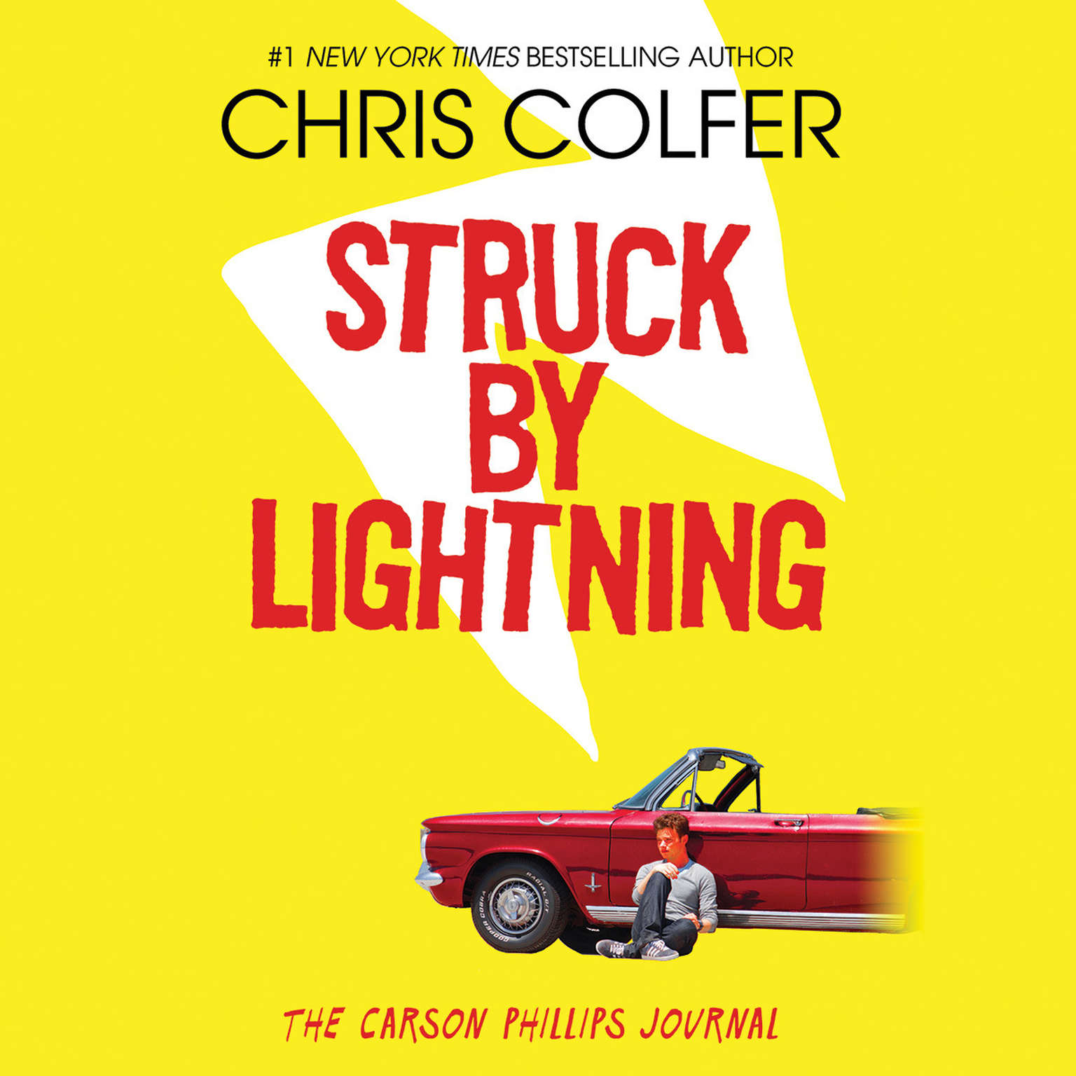 Printable Struck by Lightning: The Carson Phillips Journal Audiobook Cover Art
