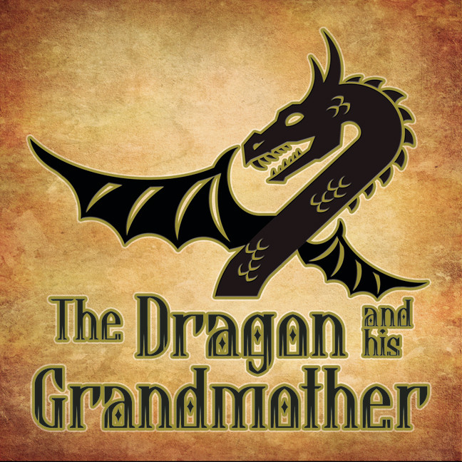 Printable The Dragon And His Grand Mother Audiobook Cover Art