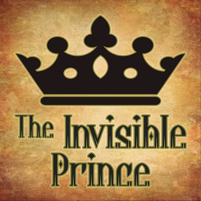 Printable The Invisible Prince Audiobook Cover Art