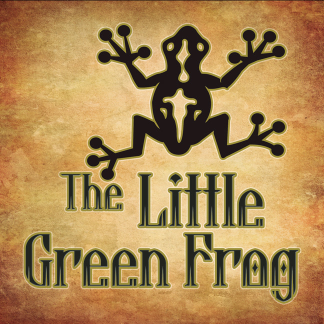 Printable The Little Green Frog Audiobook Cover Art