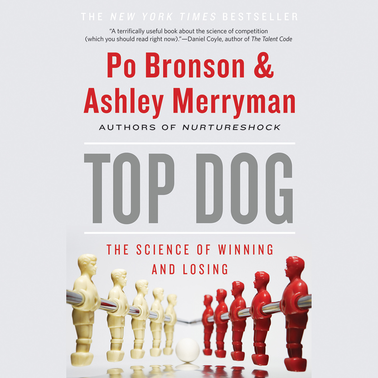 Printable Top Dog: The Science of Winning and Losing Audiobook Cover Art