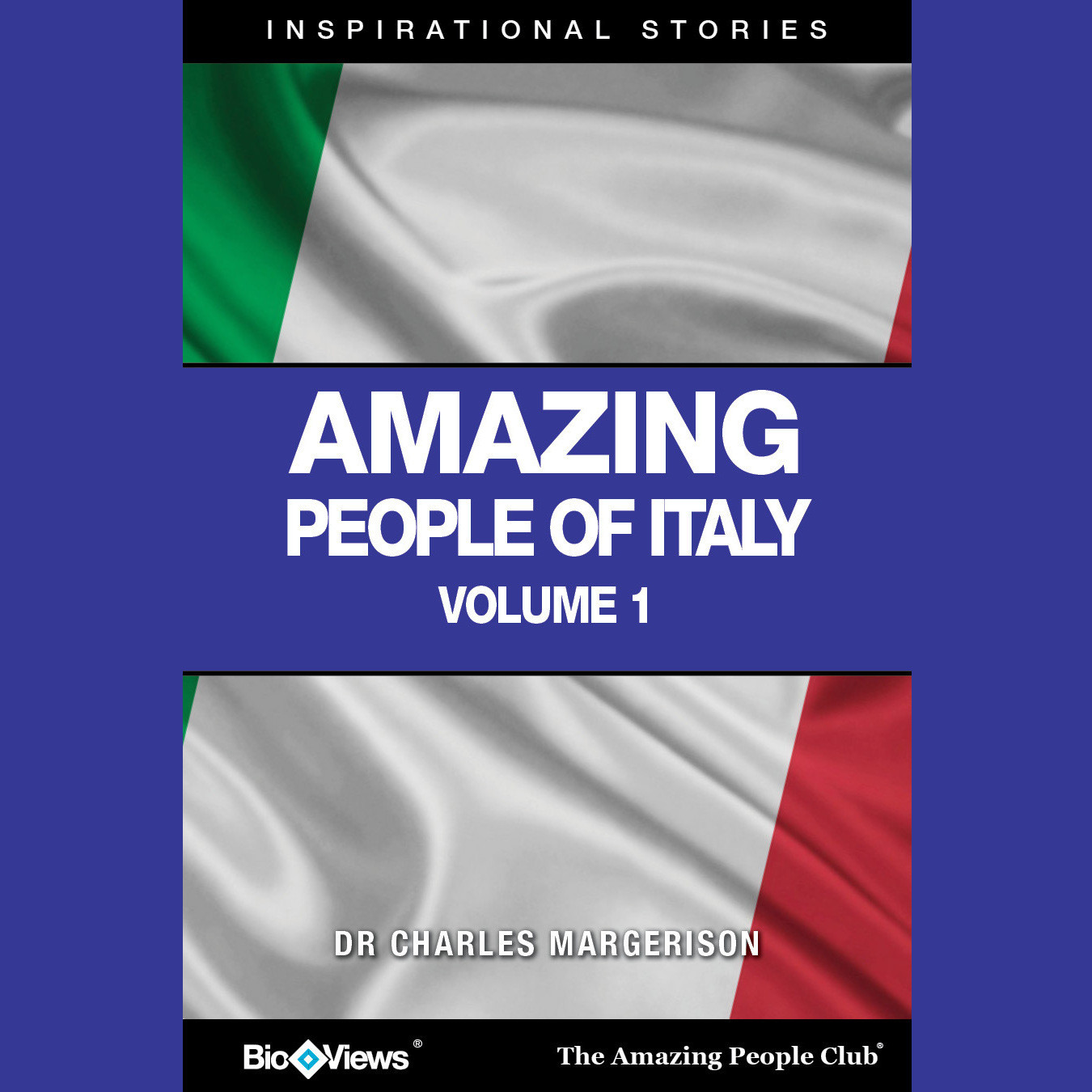 Printable Amazing People of Italy, Vol. 1: Inspirational Stories Audiobook Cover Art