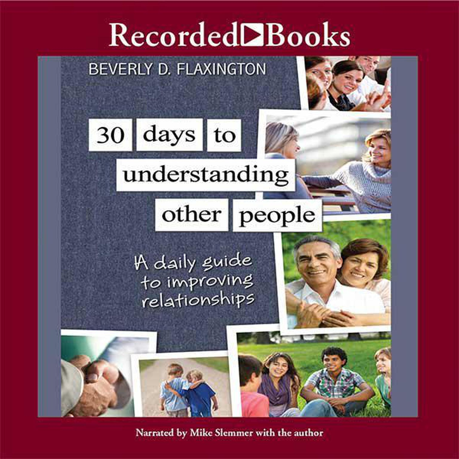 Printable 30 Days to Understanding Other People: A Daily Guide to Improving Relationships Audiobook Cover Art