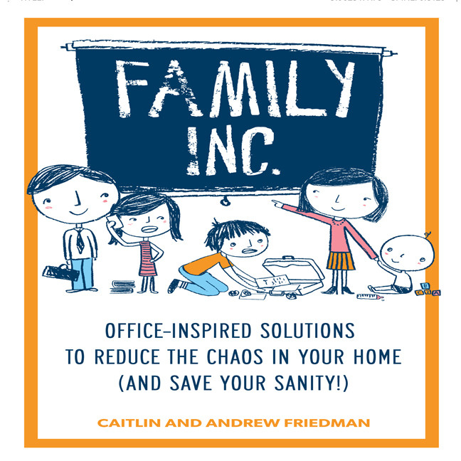 Printable Family, Inc.: Office Inspired Solutions to Reduce the Chaos in Your Home (and Save Your Sanity!) Audiobook Cover Art