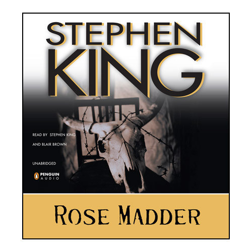 Printable Rose Madder Audiobook Cover Art
