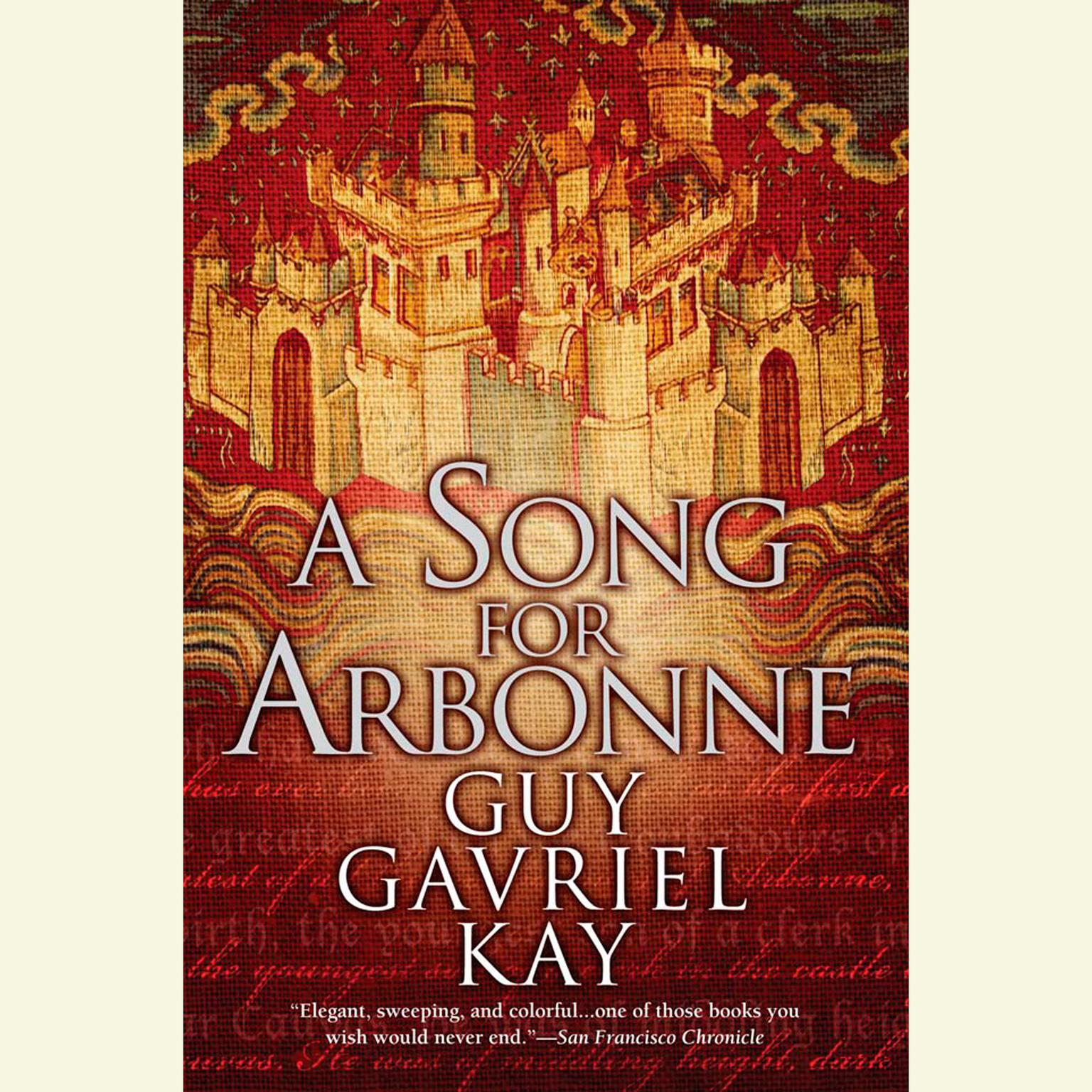 Printable A Song for Arbonne Audiobook Cover Art