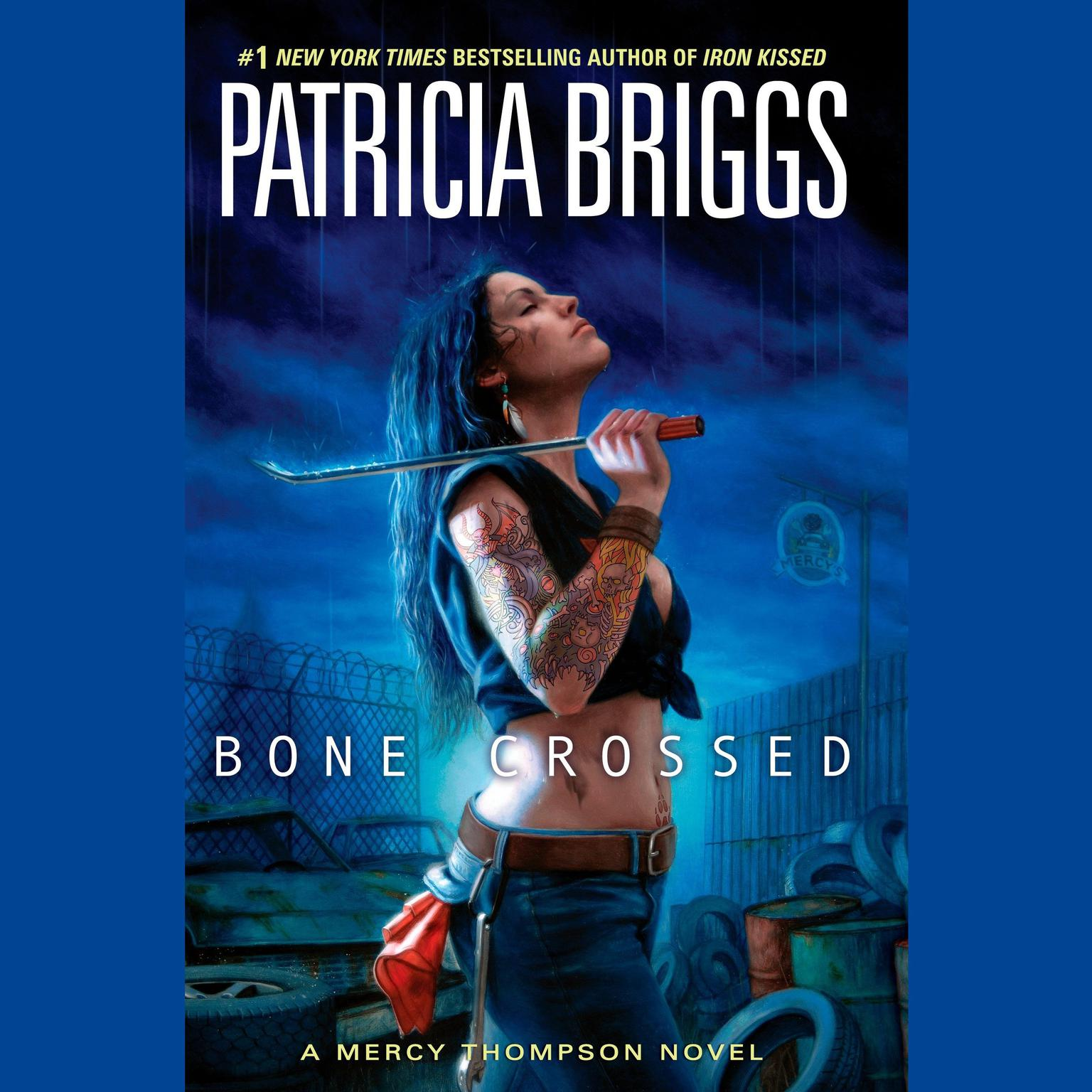 Printable Bone Crossed Audiobook Cover Art