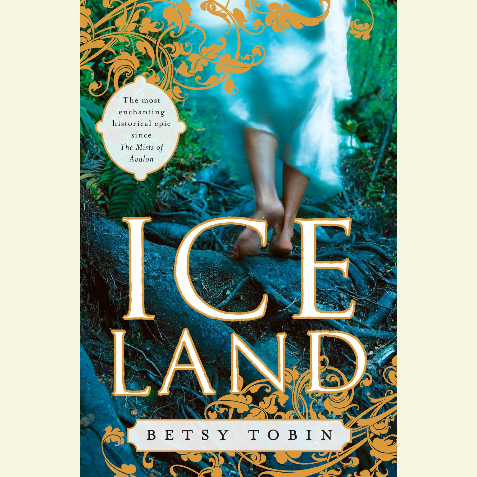 Printable Ice Land Audiobook Cover Art