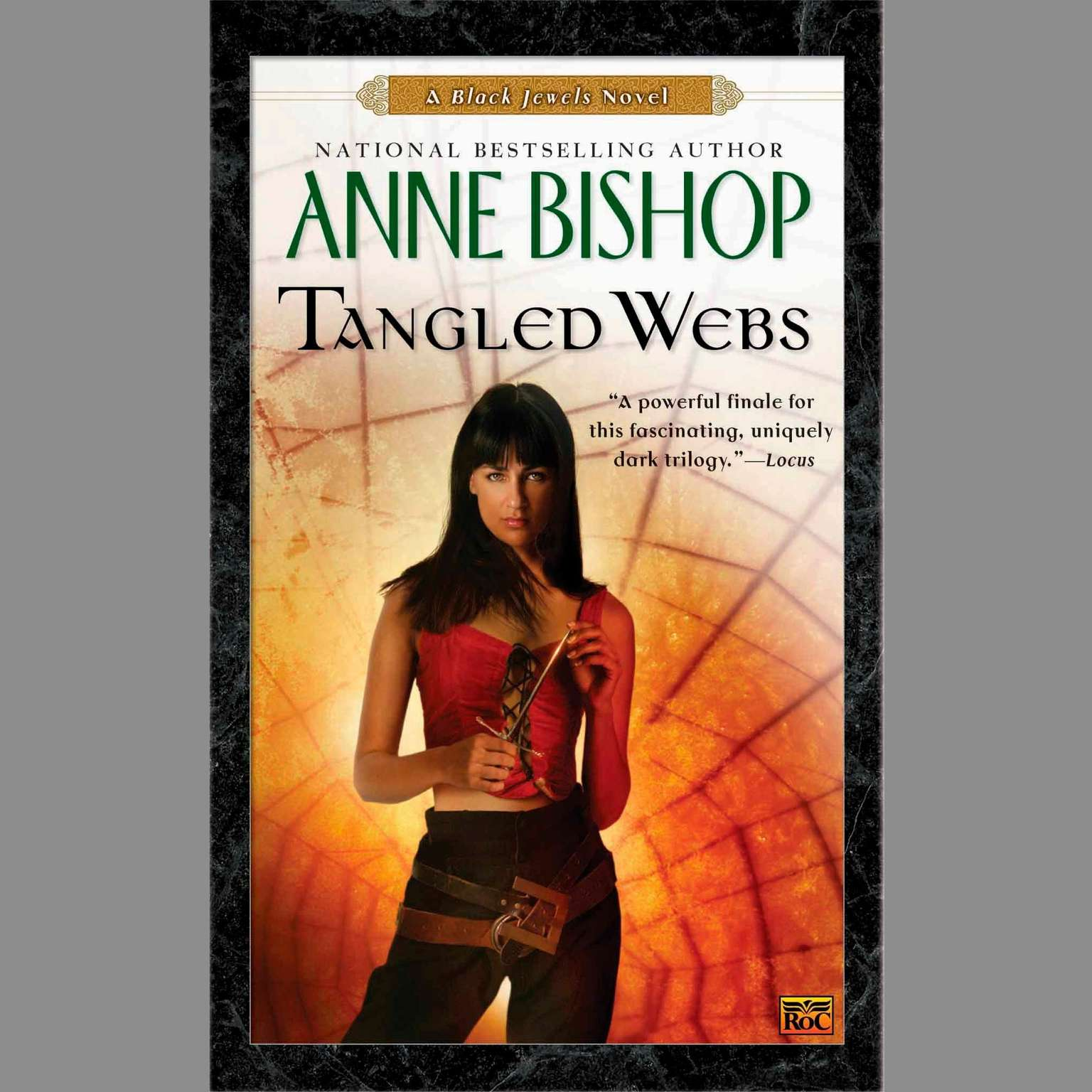 Printable Tangled Webs: A Black Jewels Novel Audiobook Cover Art