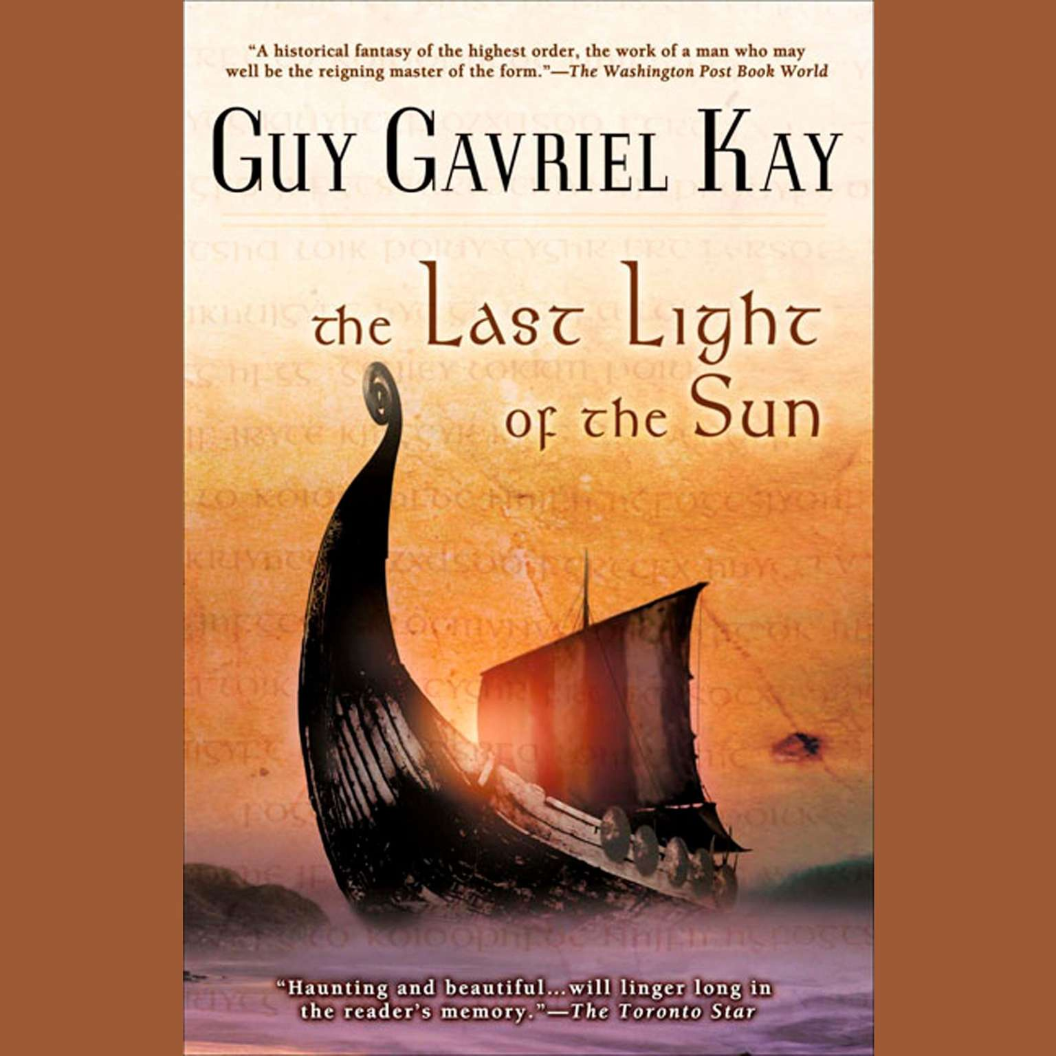 Printable The Last Light of the Sun Audiobook Cover Art