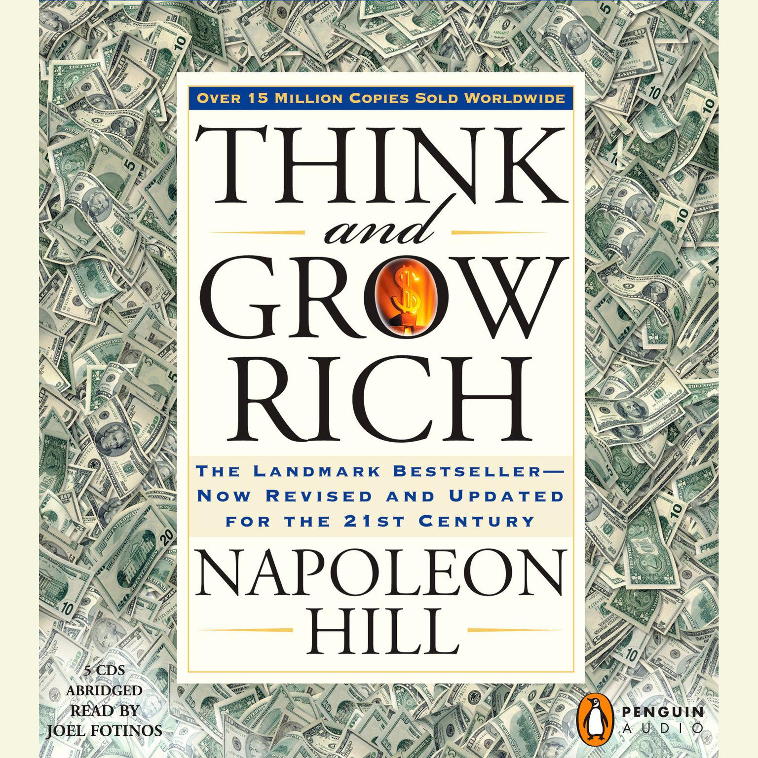 Printable Think and Grow Rich: The Landmark Bestseller Now Revised and Updated for the 21st Century Audiobook Cover Art