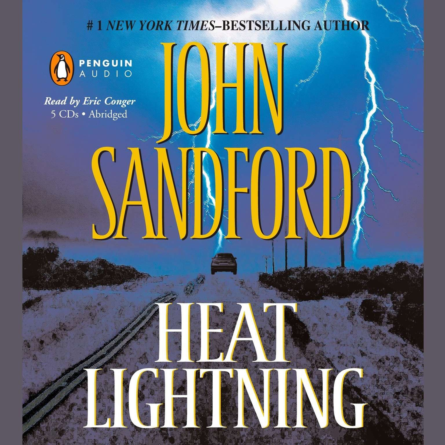 Printable Heat Lightning Audiobook Cover Art