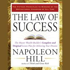 The Law of Success Audiobook, by Napoleon Hill