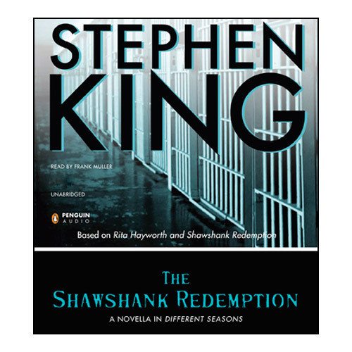 Printable The Shawshank Redemption Audiobook Cover Art