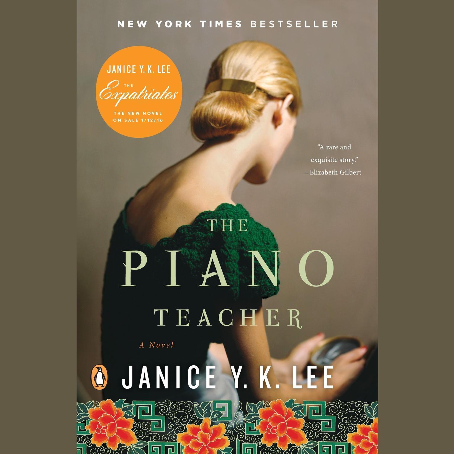 Printable The Piano Teacher: A Novel Audiobook Cover Art