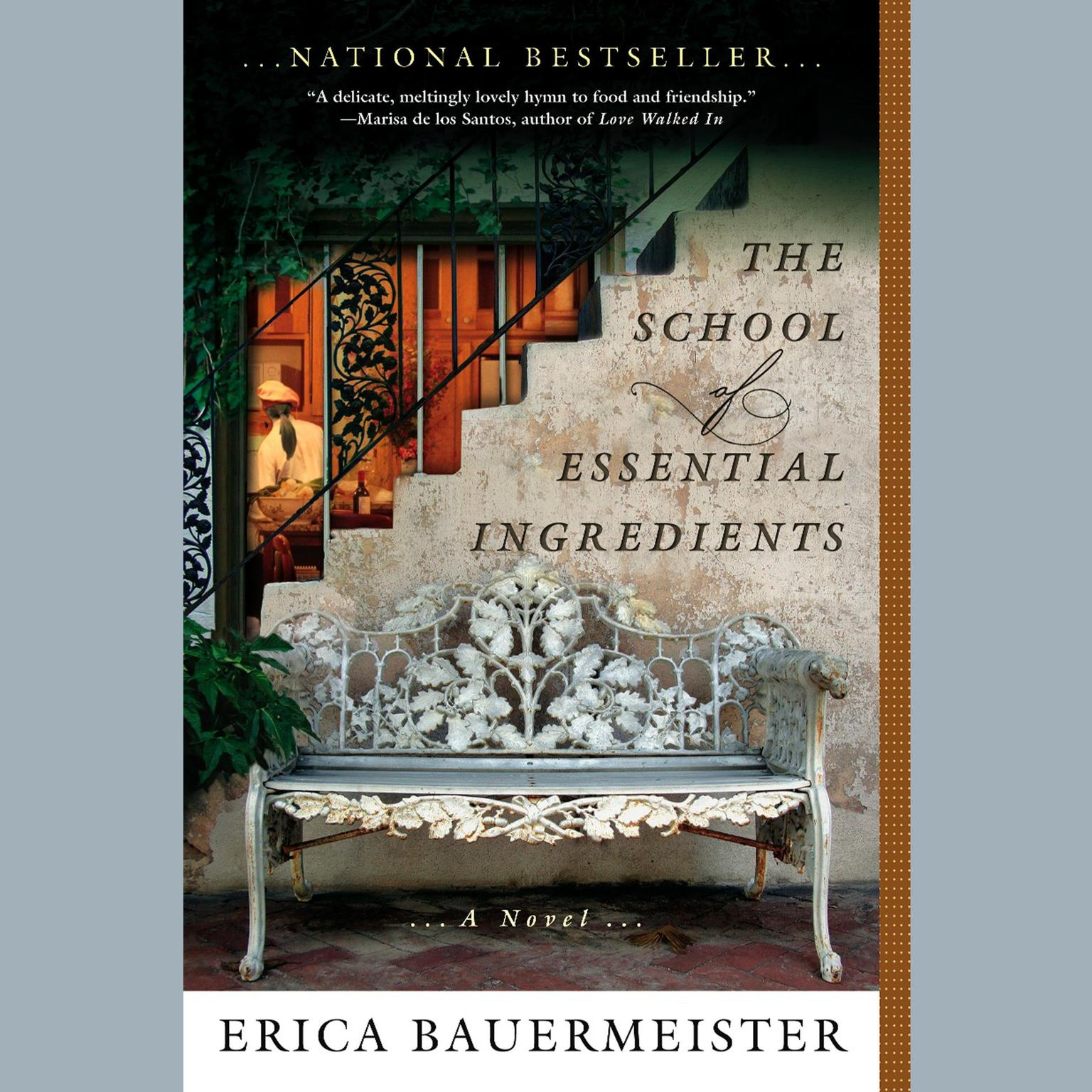 Printable The School of Essential Ingredients Audiobook Cover Art