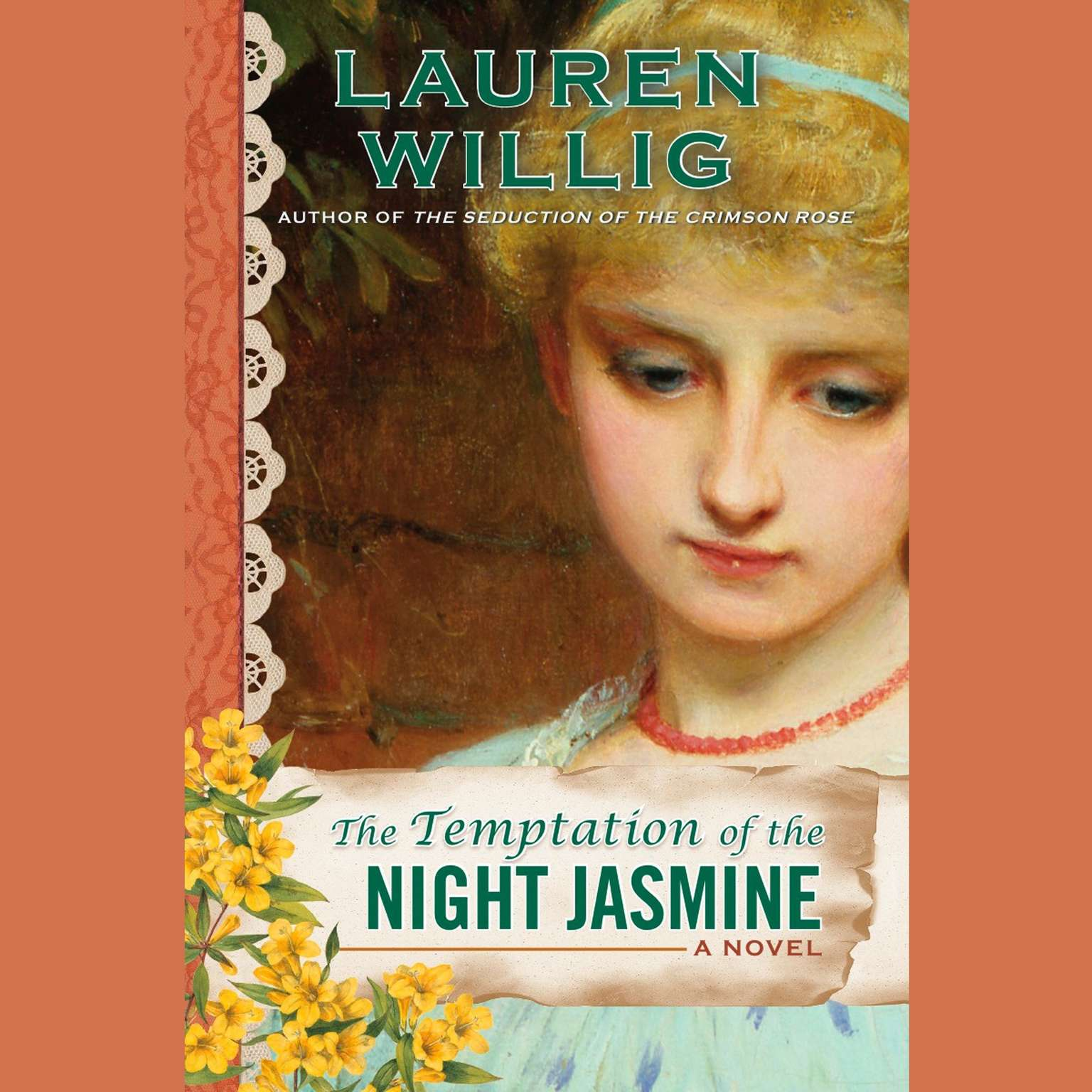 Printable The Temptation of the Night Jasmine Audiobook Cover Art
