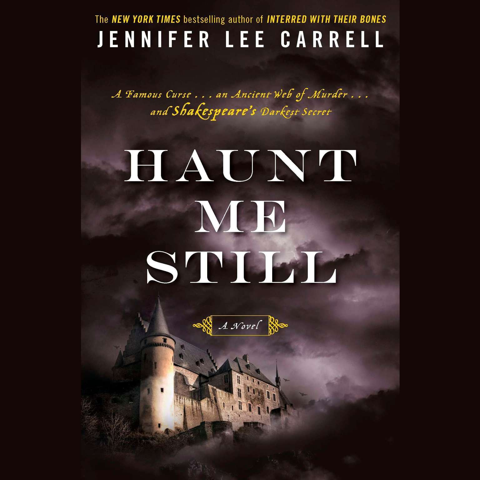 Printable Haunt Me Still Audiobook Cover Art