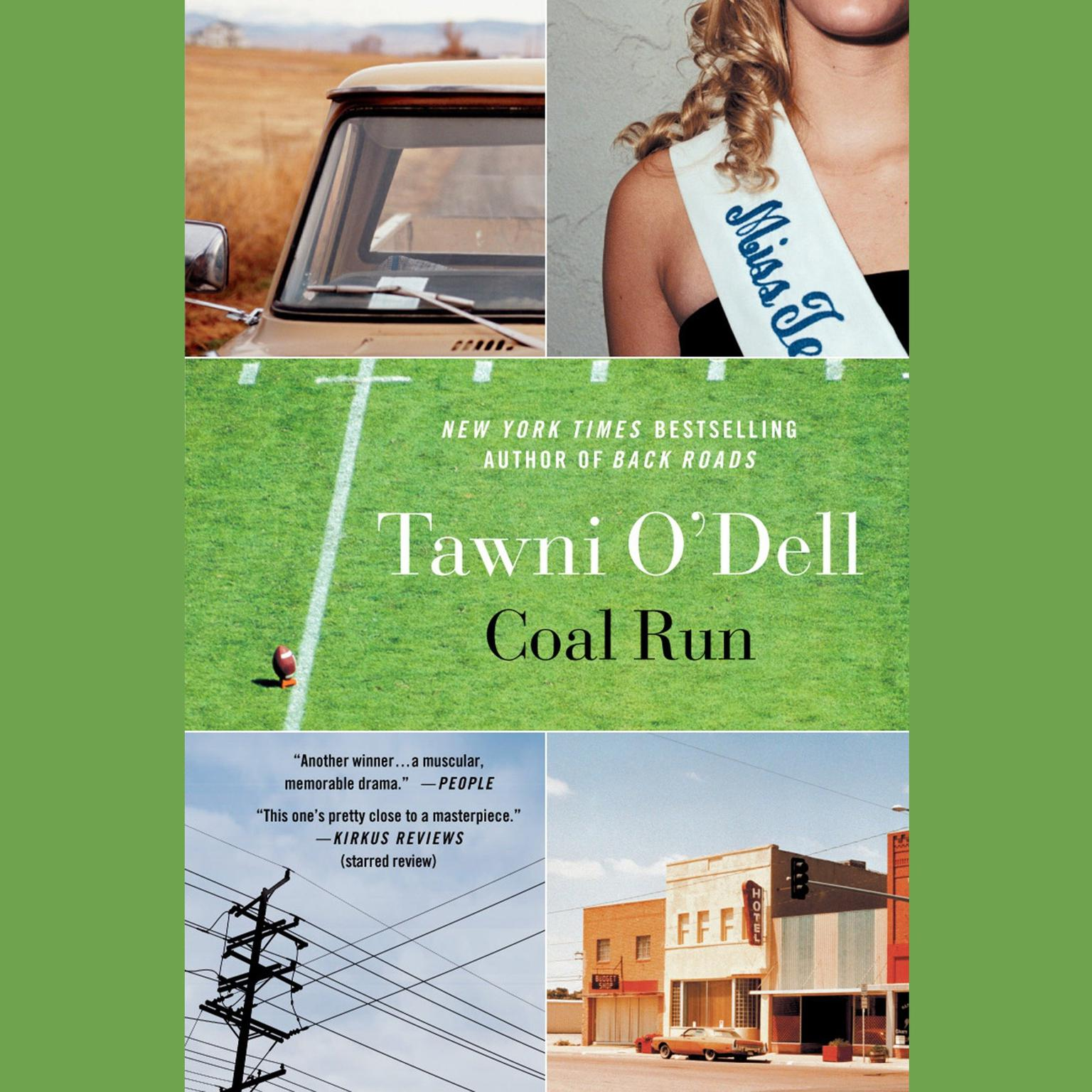 Printable Coal Run Audiobook Cover Art
