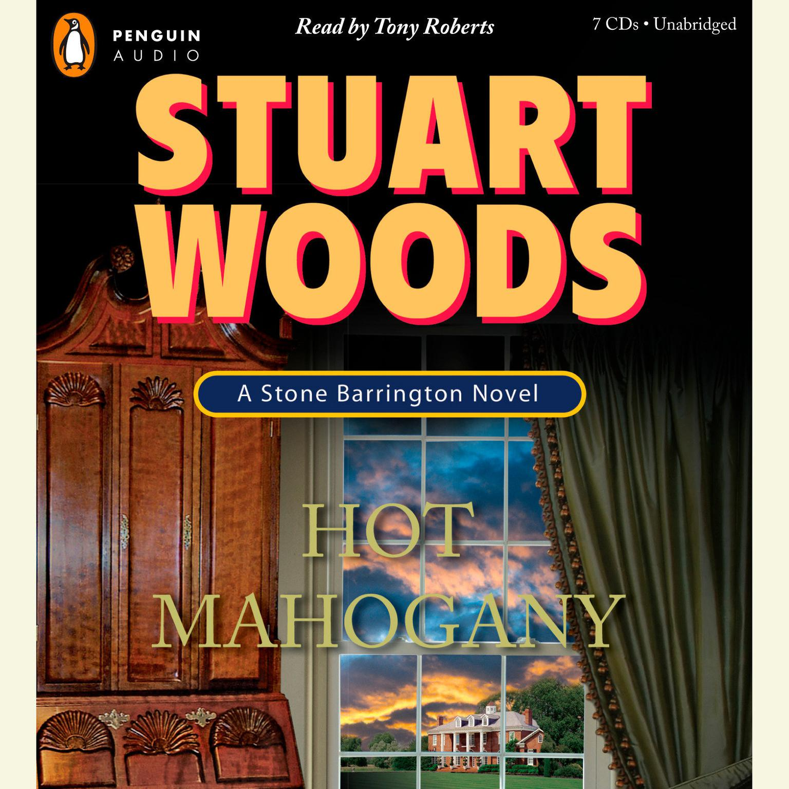 Printable Hot Mahogany Audiobook Cover Art