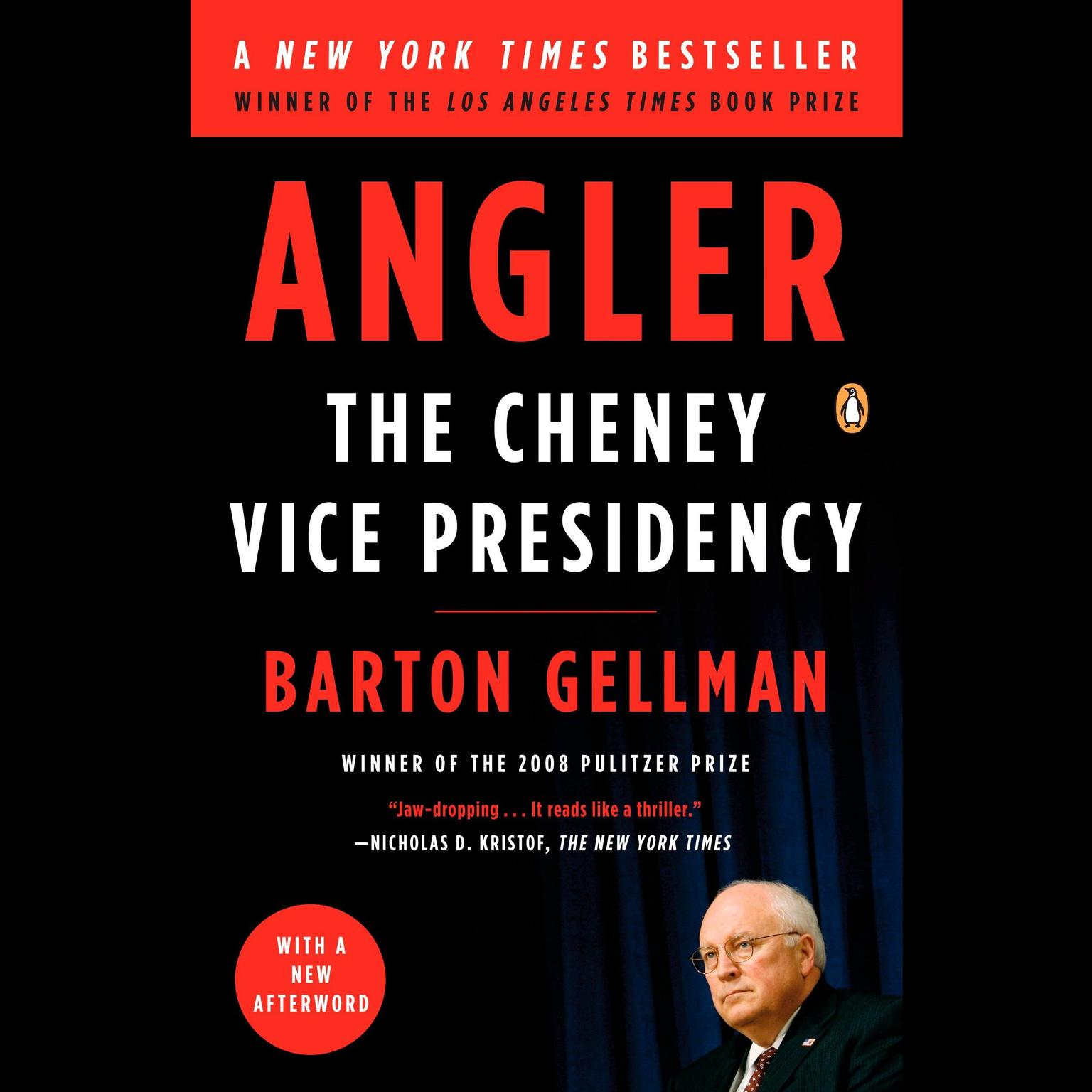 Printable Angler: The Cheney Vice Presidency Audiobook Cover Art