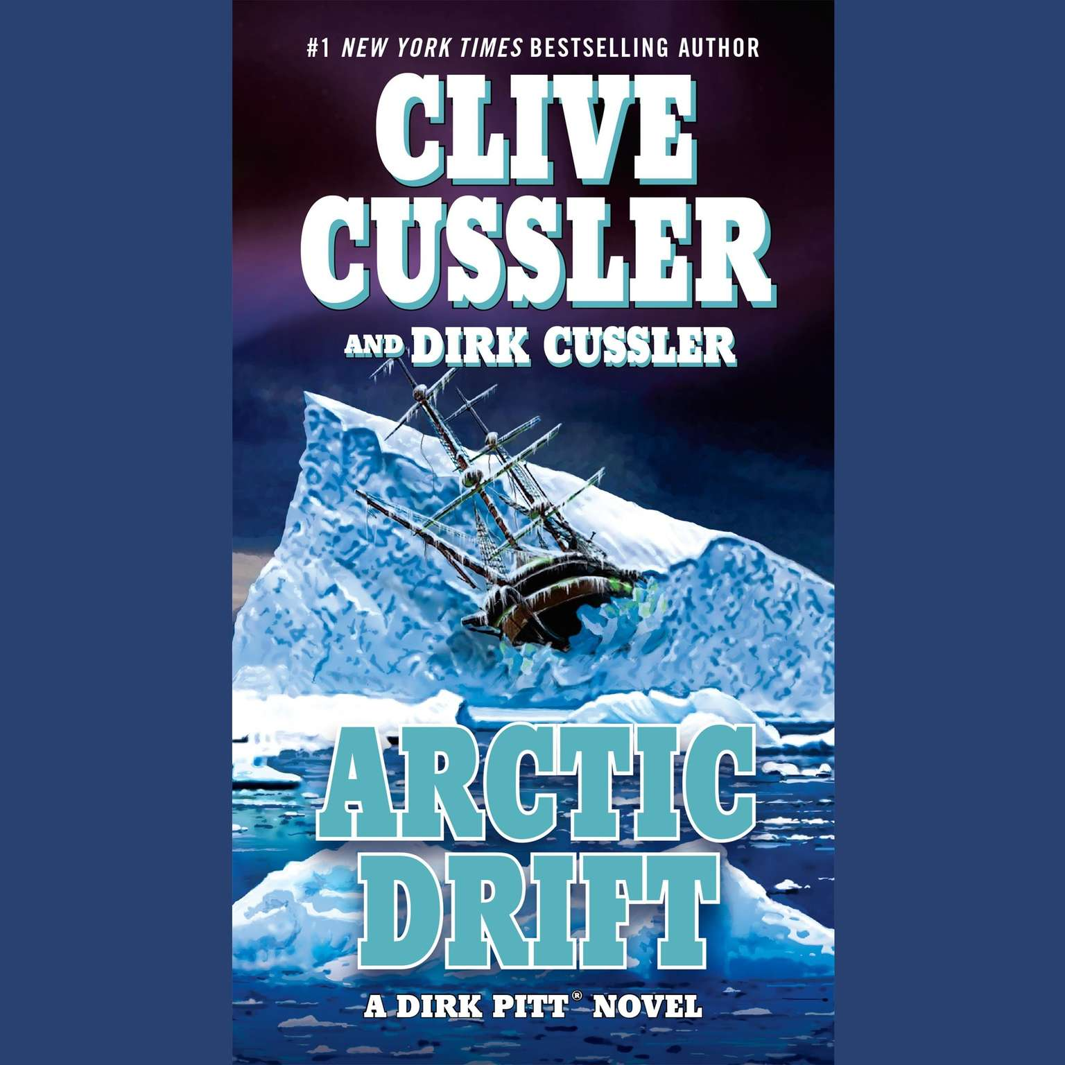 Printable Arctic Drift Audiobook Cover Art