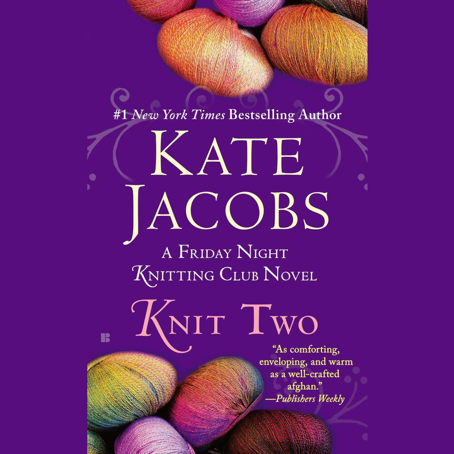 Printable Knit Two Audiobook Cover Art