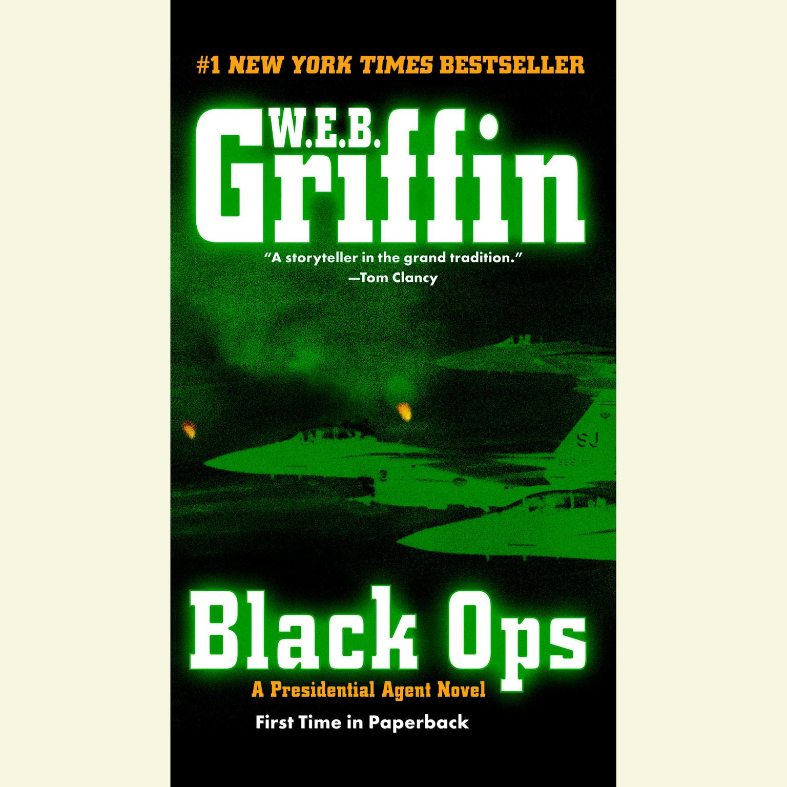 Printable Black Ops Audiobook Cover Art