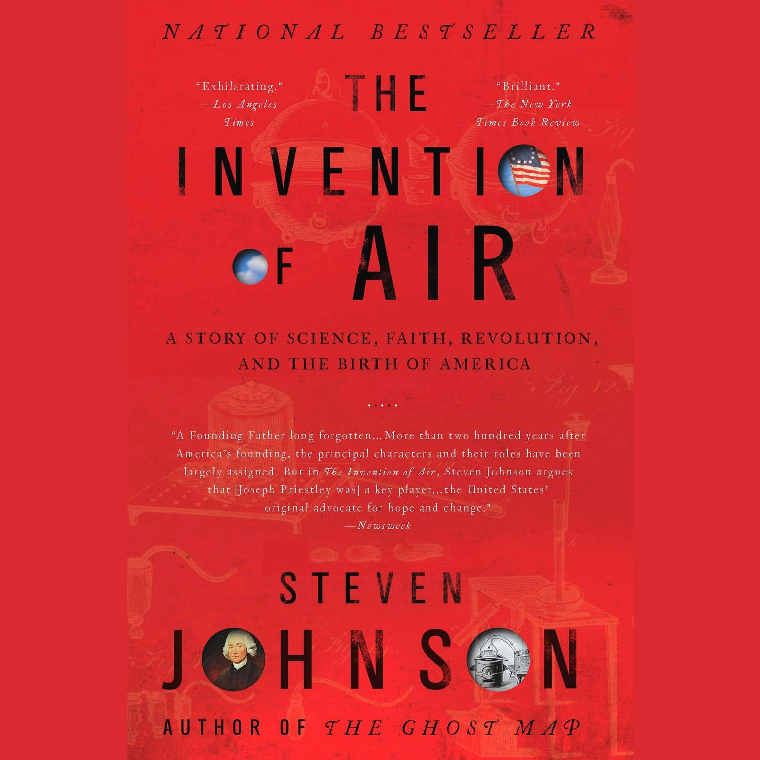 Printable The Invention of Air: A Story of Science, Faith, Revolution, and the Birth of America Audiobook Cover Art