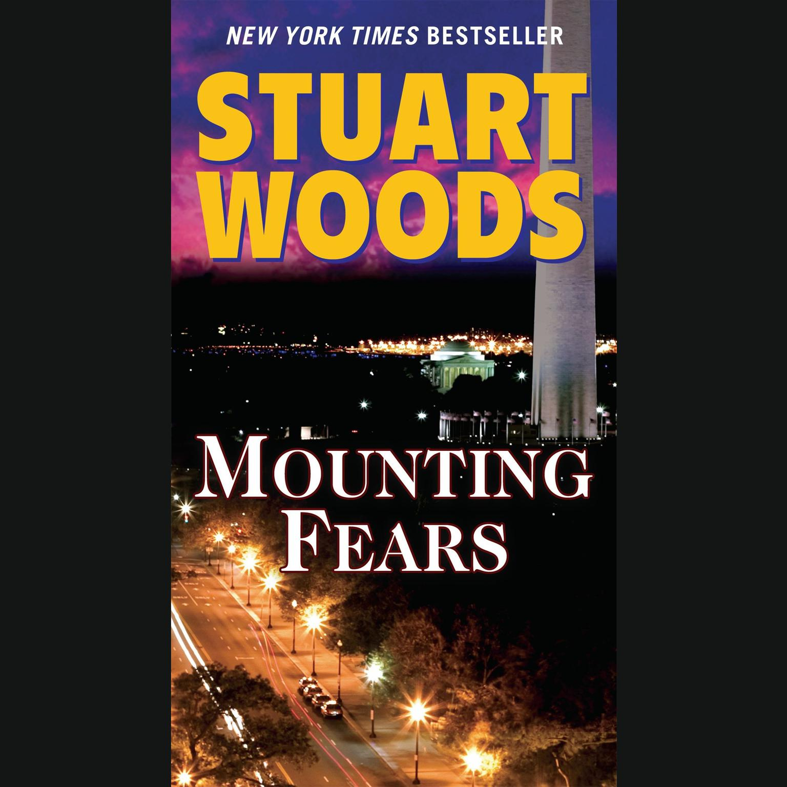 Printable Mounting Fears Audiobook Cover Art