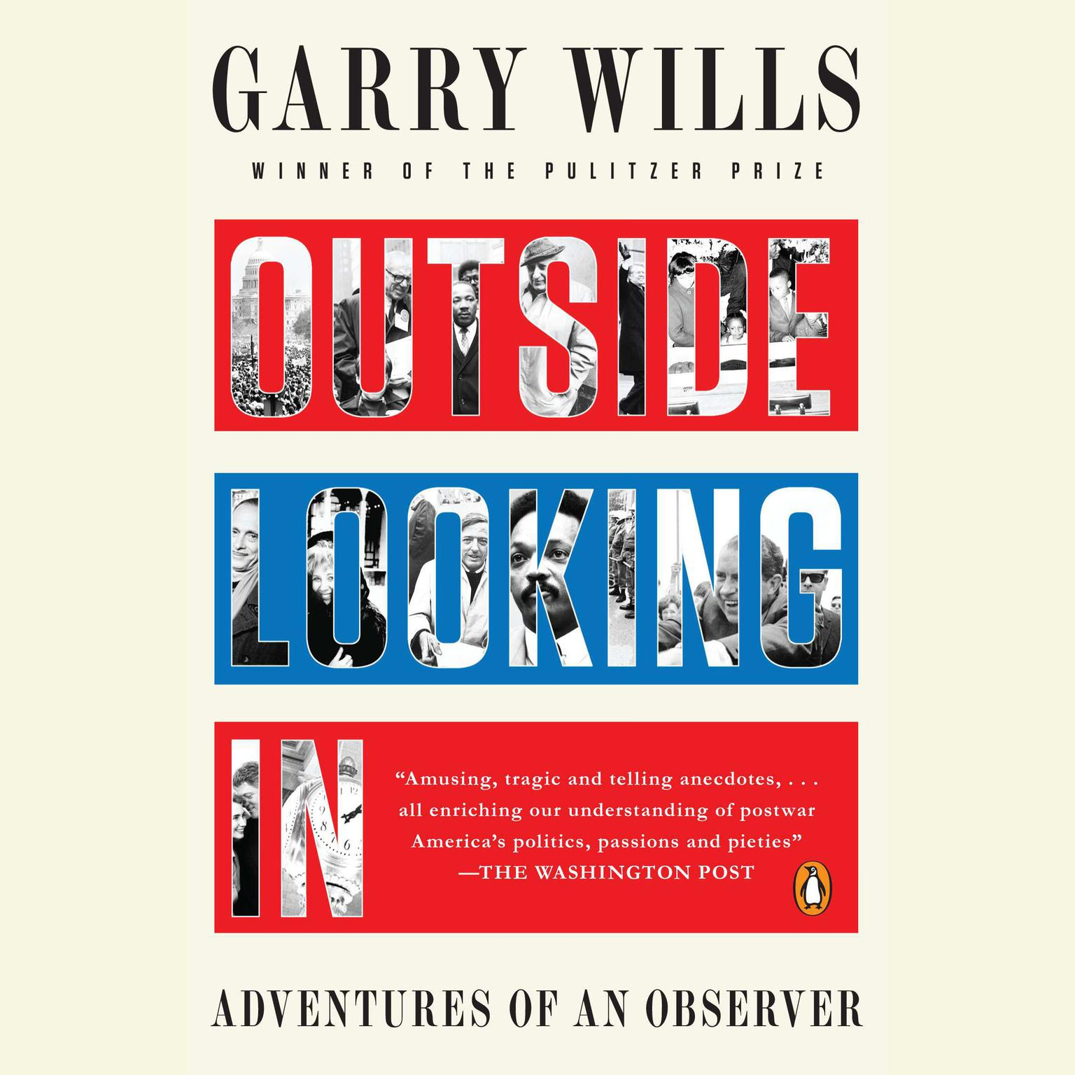 Printable Outside Looking In: Adventures of an Observer Audiobook Cover Art