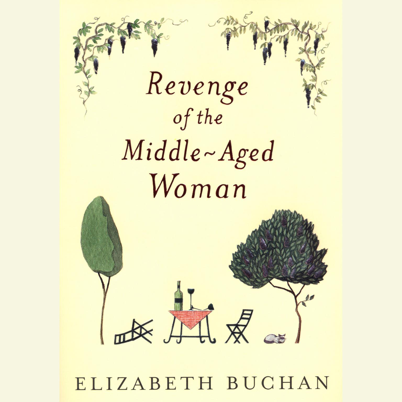 Printable Revenge of the Middle-Aged Woman Audiobook Cover Art